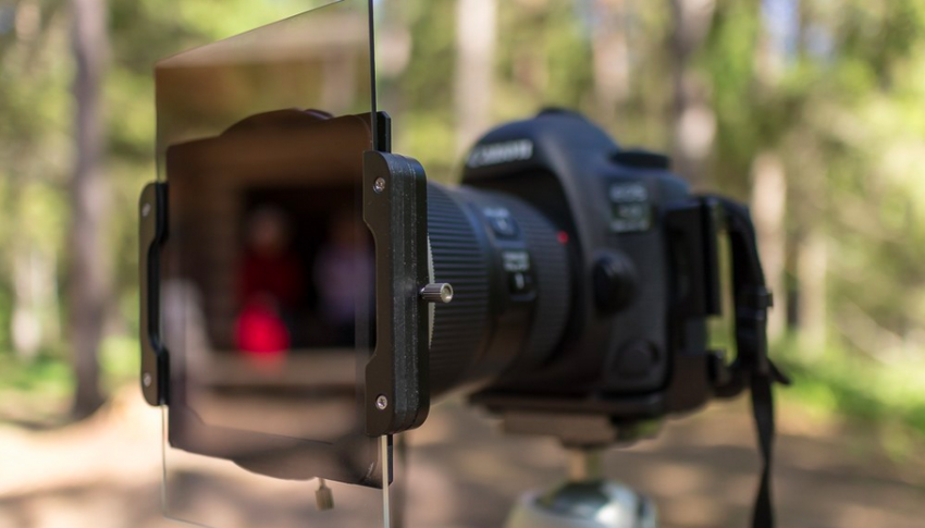 Photography gear in action: Haida 100-Pro Series filter holder